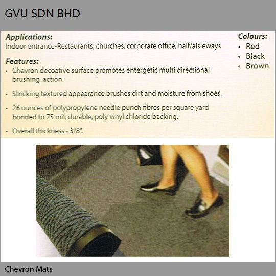 Floor Matting Supplier Malaysia Entrance Matting System